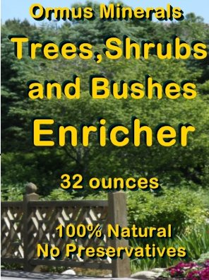 Ormus Minerals Trees, Shrubs. and Bushes Enricher bnr